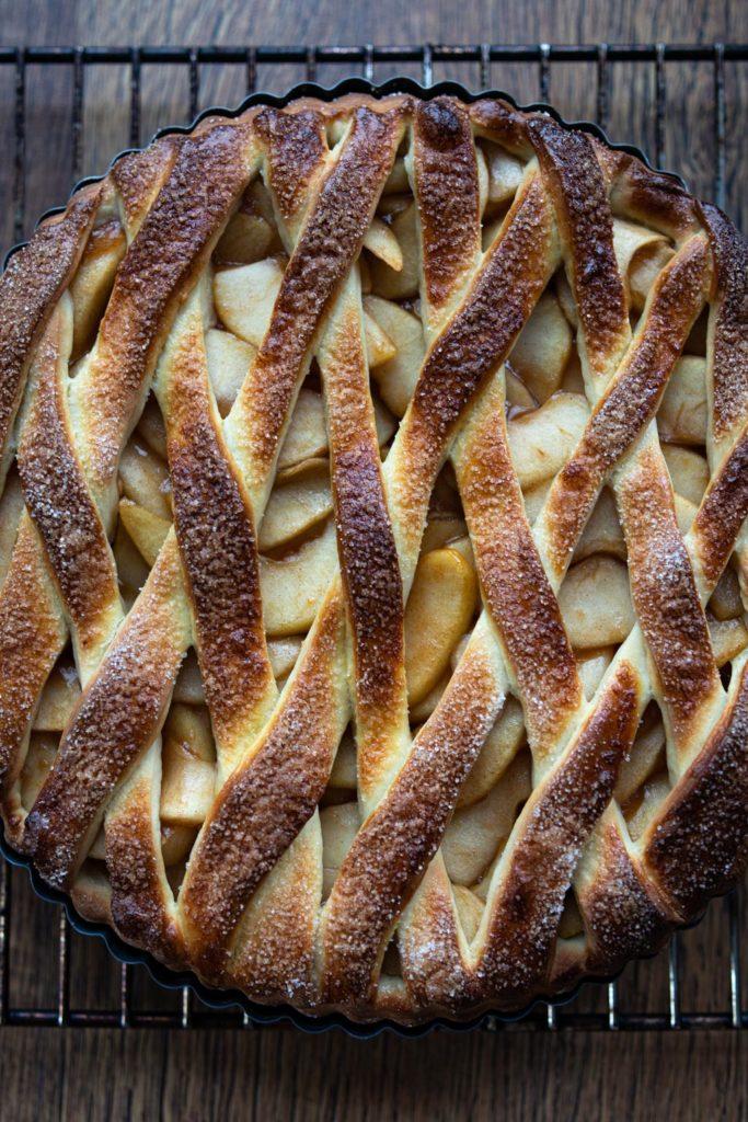 Appelvlaai Dutch apple tart