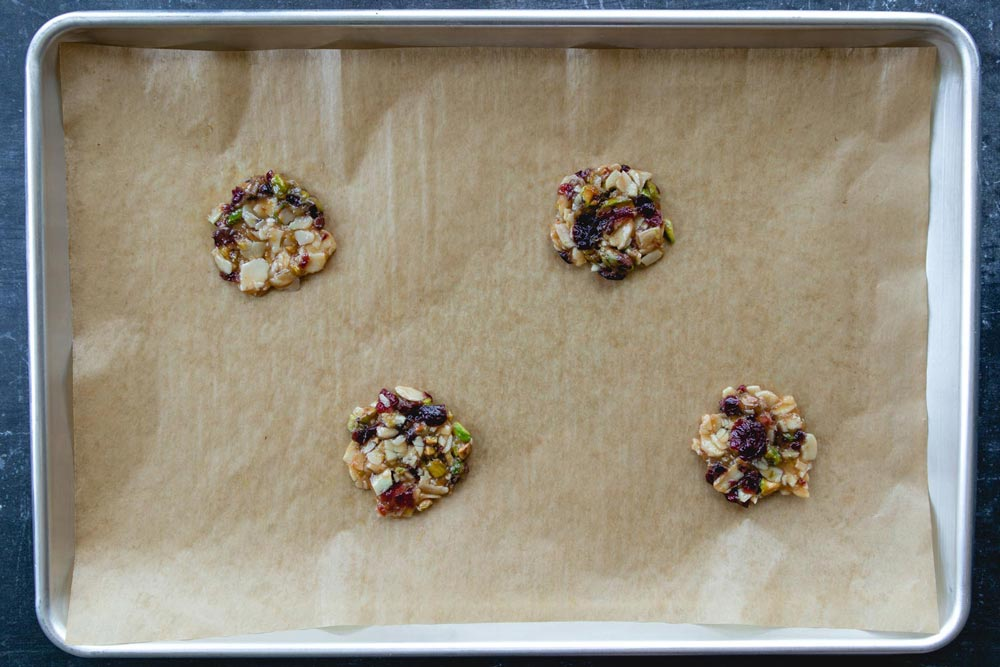 flatten the florentine biscuits