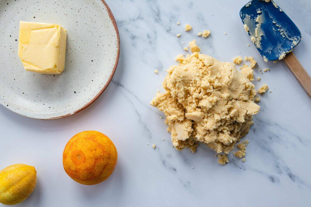 shortbread dough for buranelli