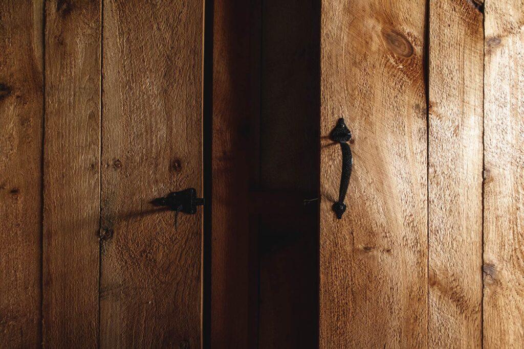 antique door and handles