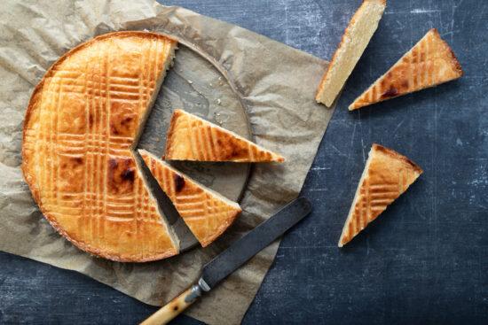 slices of Dutch boterkoek